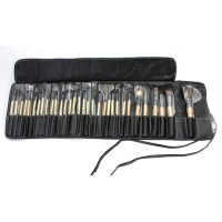 32 Piece Bobbi Brown Makeup Brush Set With Leather Pouch 2