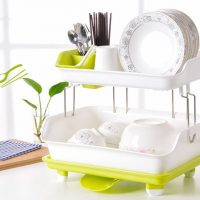MULTIPURPOSE DRAINING DISH RACK