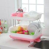 MULTIPURPOSE DRAINING DISH RACK 2