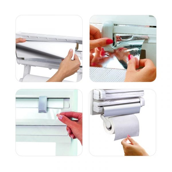 Triple Paper Dispenser (White)
