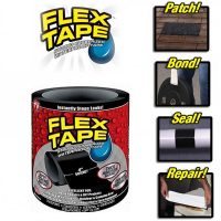 Flex Tape Rubberized Waterproof Tape (4 Inch X 5 Feet)