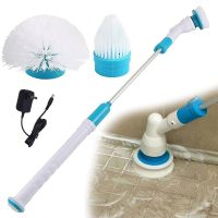 Hurricane Spin Scrubber - Cordless, Rechargeable Power Scrubber
