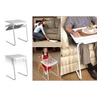 Tablemate with Cup Holder  Reading Table   Table Multi Function Detachable and Foldable Table for Home/Office/Reading/Laptop Table