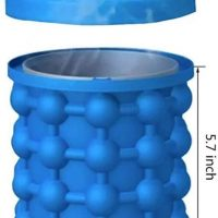 Silicone cup for ice cubes 2